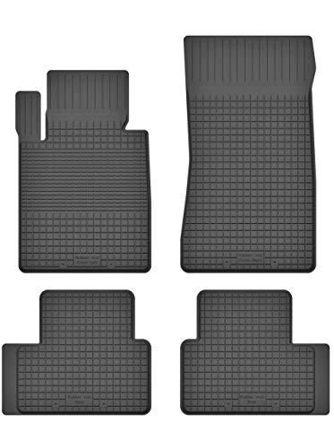 MOTO-HOBBY Premium Gummifußmatten mit 15mm Rand - Automatten Fußmatten EIN Set geeignet für BMW 3-Series E36 Compact | BD-MH-047-HX_EX-16 Mh Compact