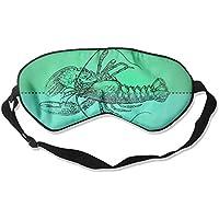 Funny Upside-Down Lobster 99% Eyeshade Blinders Sleeping Eye Patch Eye Mask Blindfold For Travel Insomnia Meditation preisvergleich bei billige-tabletten.eu