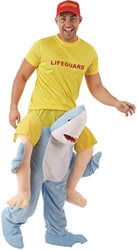 Erwachsene Halter Me Up Hai Schritt darauf Reiten Tier Natur Junggesellenabschied Nacht Party Spaß Kostüm Kleid Outfit