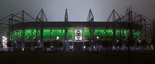 Mönchengladbach Stadion Panorama - Poster 120 x 50 cm - hochwertiger FineArtPrint -