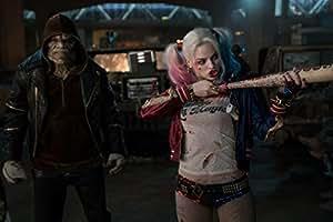Posterhouzz Movie Suicide Squad Harley Quinn Killer Croc HD Wallpaper Background Fine Art Paper Print Poster_** MOV807