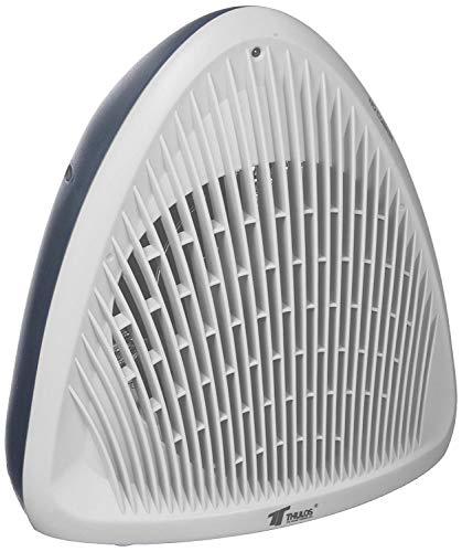 Soufflant chauffage 2000 W Radiateur électrique de haute puissance et design blanc
