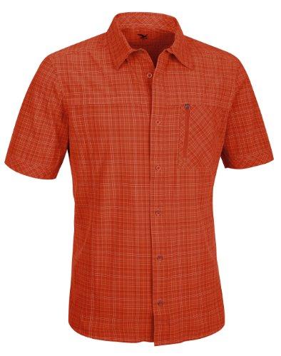 SALEWA Herren Hemd Isortoq Dry M Short Sleeve Shirt M Talut Grenatine