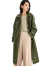 uk availability 43571 2e779 Suchergebnis auf Amazon.de für: Lack Mantel - Grün: Bekleidung
