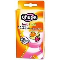 Preisvergleich für Kondome chaps fruit & fun, 24 Stück, bunter Kondom-Mix, Made in Germany