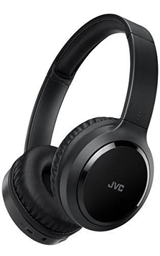 JVC HA-S80BN Casque et Micro Binaural Bandeau Noir - Casques et micros (avec Fil &sans Fil, Bandeau, Binaural, Supra-aural, 10-22000 Hz, Noir)