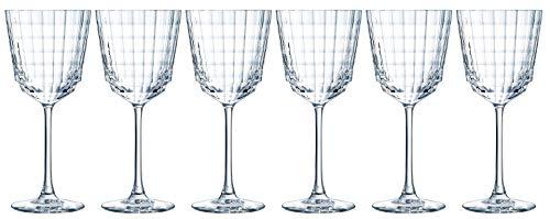 Cristal d'Arques AVE4013027 6 VERRES A PIED 35 CL IROKO - CRISTAL D'ARQUES, Transparent