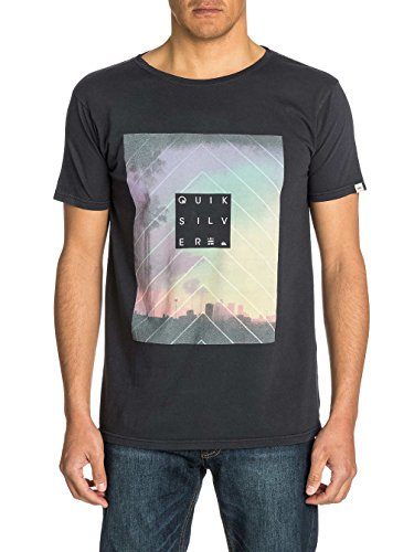 Herren T-Shirt Quiksilver Roadie K2 T-Shirt Dark Charcoal