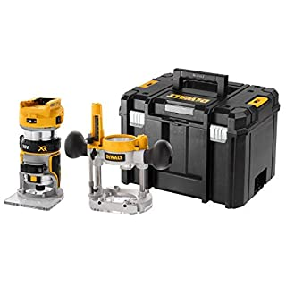 DEWALT DCW604NT 18V XR 1/4 Router Body with Plunge Base