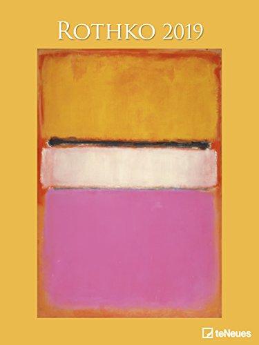 Rothko 2019 - Kunstkalender, Posterkalender, Abstrakter Expressionismus - 48 x 64 cm