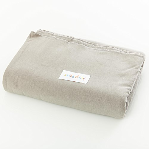 original smileBaby elastisches Babytragetuch Tragetuch für Neugeborene und Babys in Grau