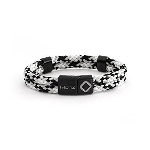 Trion: Z Zen Loop Duo Magnetische Ionen Therapie Armbänder mit patentierter ANSPO-Technologie für Gelenkentlastung Arthritis Karpaltunnel Knie Handgelenk Schmerz Männer Frauen - perfektes Geschenk