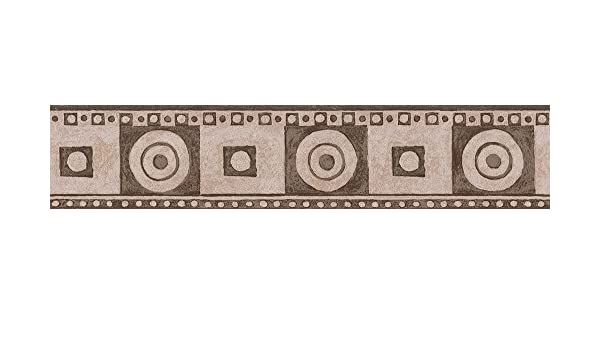 Cr/éation selbstklebende Bord/üre Only Borders Borte 5,00 m x 0,13 m beige braun creme Made in Germany 893017 8930-17 A.S