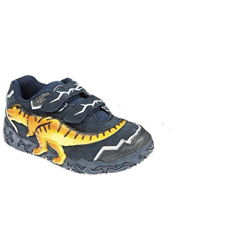 Dinosoles 3D X10 T-rex Low top kids Shoes Navy Size 12 Child UK