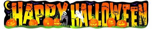 Bannière happy Halloween (1 36 m)
