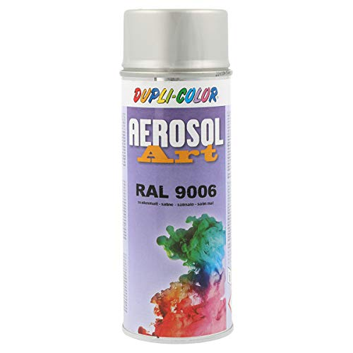 Dupli-Color 741425 Aerosol Art Ral 9006 sdm. 400 ml