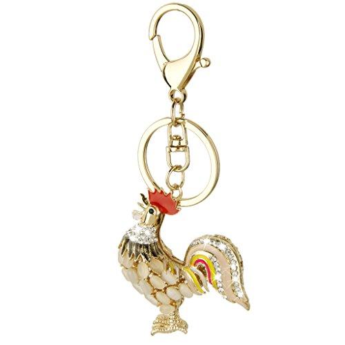 Preisvergleich Produktbild Kristallrhinestone-Schwanz-Anhänger Schlüsselanhänger Schlüsselanhänger Schlüsselanhänger