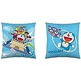 Euromoda Licencias Cojín Con Relleno Extraíble Doraemon Azul 40 x 40 cm