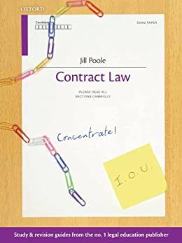 Contract Law Concentrate: Law Revision and Study Guide by [Poole, Jill]