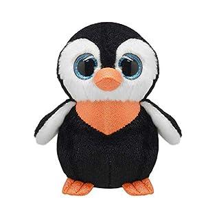 Wild Planet- Orbys-Juguete de Peluche Pinguino 25cm Hecho a Mano, Multicolor (K8173)