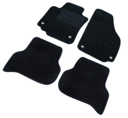 Preisvergleich Produktbild Passform Fußmatten mit Absatzschoner schwarz für Infinity QX30 ab Bj. 03/16 mit Mattenhalter vorne und hinten