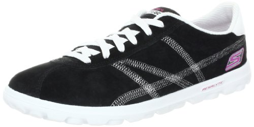 Skechers on-the-GO Sutra, Damen Sneakers, Schwarz (BKW), 36 EU (Skechers On The Go)