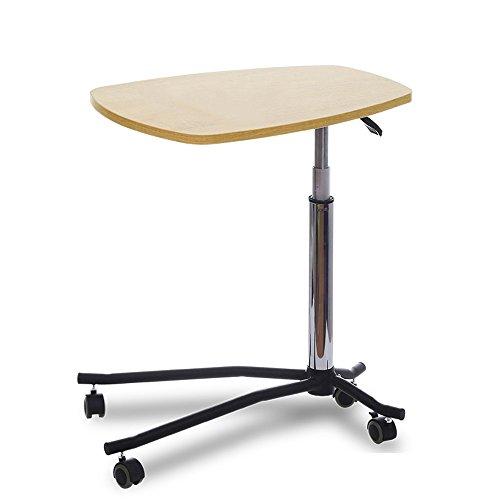 Stuhl-set Und Laptop-schreibtisch (Tische Zr- Nachttisch Es Kann Aufzug Faul Computer Schreibtisch Bett Notebook Schreibtisch Sofa Beistelltisch Bewegen (Farbe : Yellow Oak))