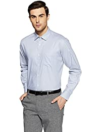 Symbol Amazon Brand Men's Formal Premium Dobby Regular Fit Shirt