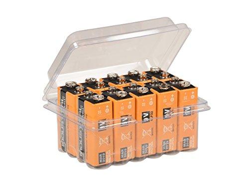10x Duracell Industrial 9 Volt Block Power Batterie MN1604 6LR61 Alkaline 9 V im Big Box Pack von wns-emg-world Procell 9v-batterie