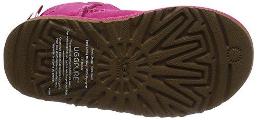 UGG K Mini Bailey Bow cerise - porte-monnaie Rose chaud (Cerise)