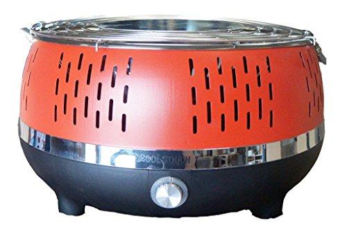 Humo sin carbón de mesa grill Cool Touch 2.0Carbón vegetal Barbacoa...