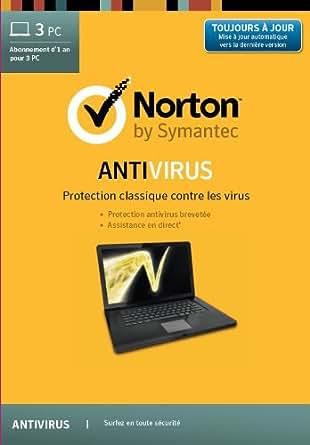 Norton Antivirus 2014 - 3 PC- 1 an [Téléchargement]