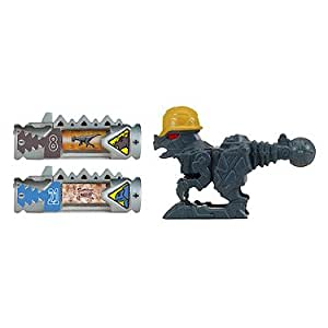 Power Rangers : Dino Charge – Pack de 2 Dino Chargers + 1 Mini Zord – Pachy Zord