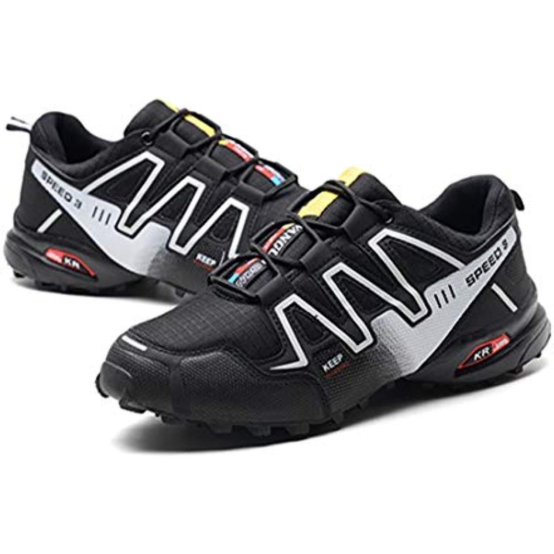 Sanzhileg Chaussures de Course pour Homme Speed 3 Athlétique Sports air de Plein air Sports Randonnée Alpinisme Baskets... - B07KN75M4J - d68c35