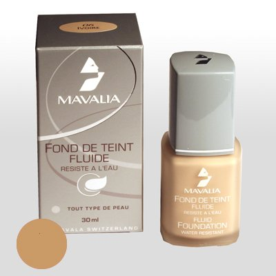 Mavalia Fluid Foundation elfenbein/ivoire 30ml - Mavala Kosmetik