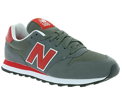 New Balance Gm500, Chaussures Homme grau-rot-weiß