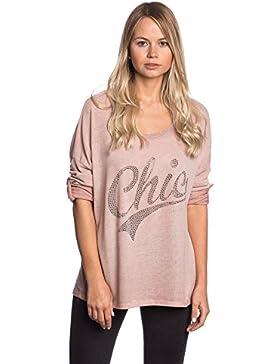 Abbino IG002 Shirts Tops Para Mujer - Hecho EN Italia - Colores Variados - Primavera Verano Camisetas Otoño Cómodo...