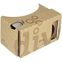 Dive Cardboard 6 - casque de réalité virtuelle comme Google Cardboard V2 2015
