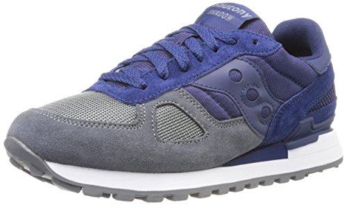 Saucony Herren Sneakers, Blau/Grau, 46 EU - Saucony-shadow
