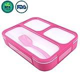 OldPAPA Original Lunchbox I Meal Prep I Bento Box I 3 Fächer I Auslaufsicher - Auch Jede Kammer untereinander I Spülmaschinengeeignet (Ohne Deckel) I BPA Frei I Brotdose Meal Prep