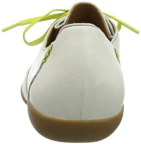 Clarks Felicia Vale Damen Derby Schnürhalbschuhe Beige (Cotton Leather)