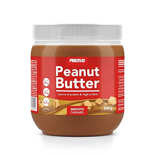 Prozis burro di arachidi al caramello 500 g vellutato