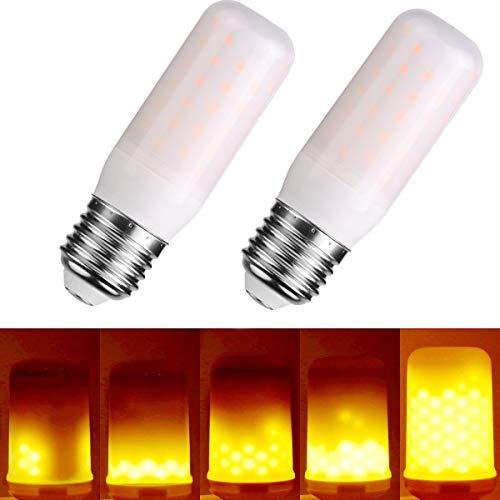 LED Flamme Birne, 150Lumens, 1300K wahre Feuer Farbe, E27 Dekorative Lampe für Weihnachten, Halloween, Festival, Party, 2er-Pack By Lightone