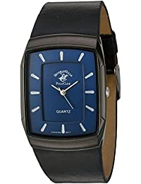 US Beverly Hills Polo Club Men's 'Beverly Hills Polo Club' Quartz Metal Casual Watch, Color Black (Model: 53299)
