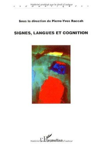 Signes, langues et cognition