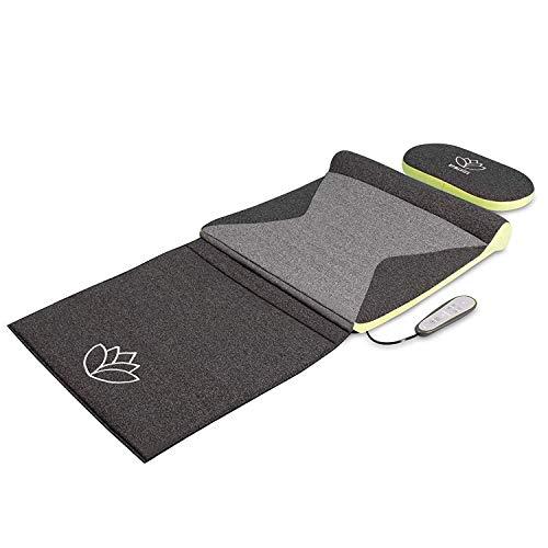 HoMedics Stretch XS, Ispirato alla Yoga, Tappetino con 4 Camere d'Aria per Distendere la Schiena, Opzione Calore per Lenire i Muscoli Stanchi