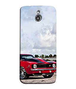 PrintVisa Designer Back Case Cover for InFocus M2 (Rare lovely awsome car race speedy)