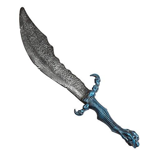 Bristol Novelty ba665Fantasy Schwert mit blauem Griff, Jungen, one ()