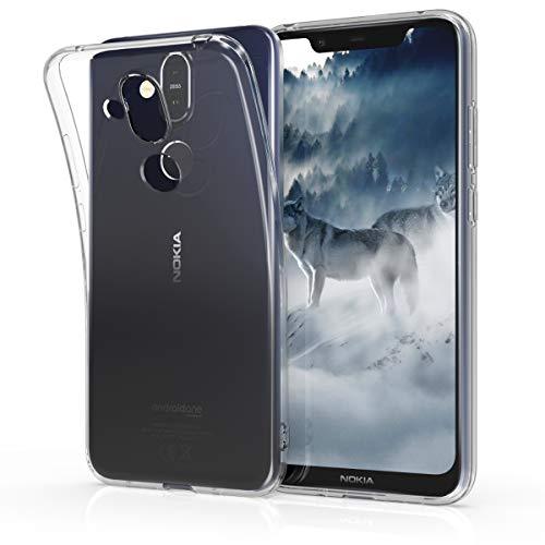 kwmobile Nokia 8.1 (2018) / X7 Hülle - Handyhülle für Nokia 8.1 (2018) / X7 - Handy Case in Transparent