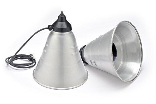 RIFLETTORE RISCALDAMENTO LAMPADA INFRAROSSI ATTACCO E27 / PULCINI SUINI